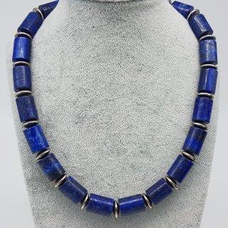 Kette - Blaue Zylinder