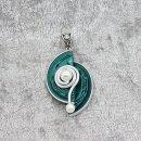 Fortissio mit Spirale und Acrylperle